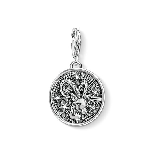 Charm pendant zodiac sign Capricorn from the Charm Club collection in the THOMAS SABO online store
