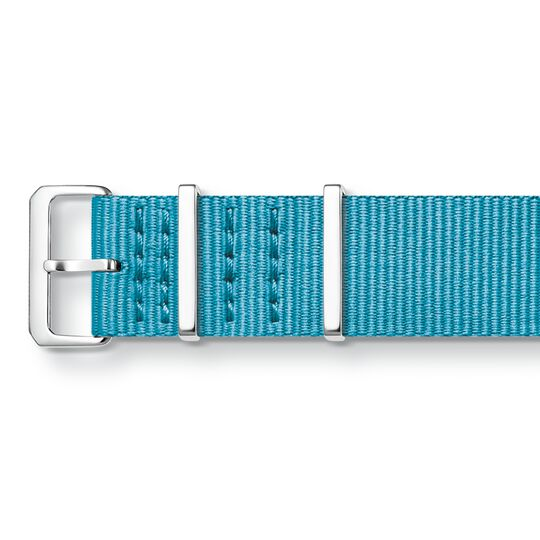 Watch strap CODE TS Nato turquoise from the  collection in the THOMAS SABO online store