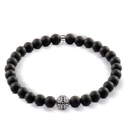 "bracelet ""cross"" from the Rebel at heart collection in the THOMAS SABO online store"