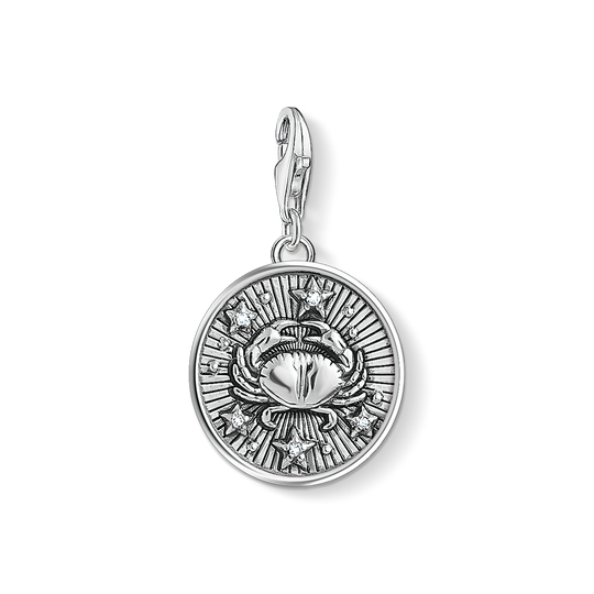 Charm pendant zodiac sign Cancer from the Charm Club collection in the THOMAS SABO online store