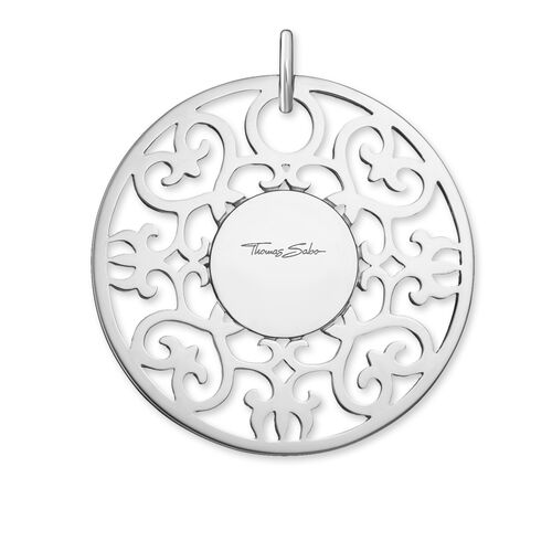 """ciondolo """"Ornamento bianco"""" from the Glam & Soul collection in the THOMAS SABO online store"""