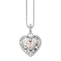 """necklace """"heart medallion"""" from the Glam & Soul collection in the THOMAS SABO online store"""