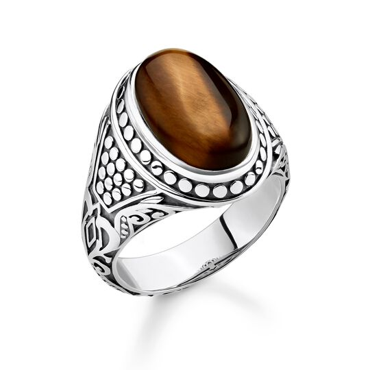 """ring """"brown"""" from the Rebel at heart collection in the THOMAS SABO online store"""