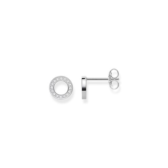 ear studs circles small from the  collection in the THOMAS SABO online store
