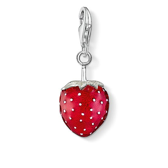 "Charm pendant ""strawberry"" from the  collection in the THOMAS SABO online store"