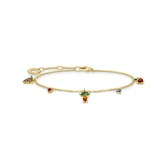 Bracelet colorful fruits gold from the Charming Collection collection in the THOMAS SABO online store
