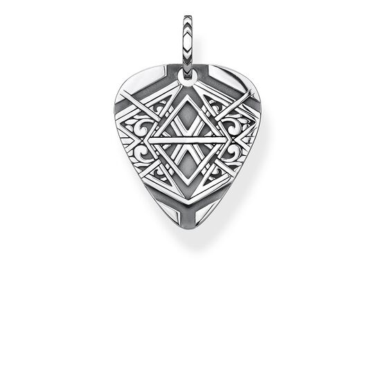 "pendant ""dog tag"" from the Rebel at heart collection in the THOMAS SABO online store"