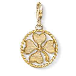 Charm pendant disc cloverleaf from the  collection in the THOMAS SABO online store