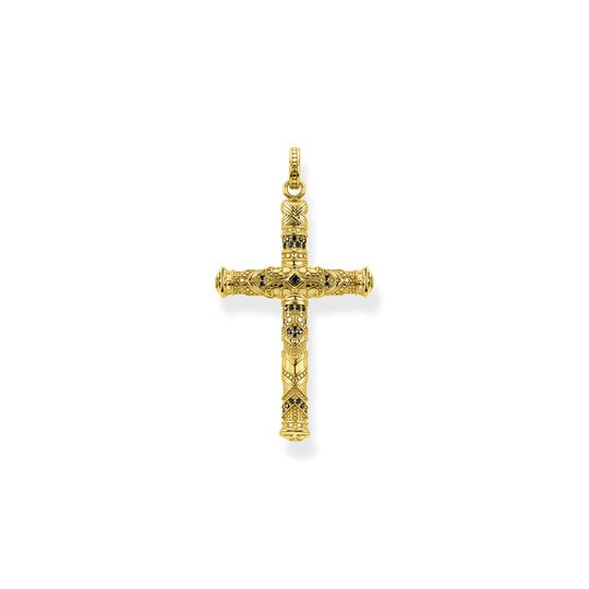 Pendant cross gold from the  collection in the THOMAS SABO online store