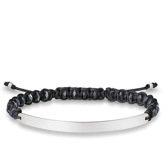 bracelet black from the Love Bridge collection in the THOMAS SABO online store