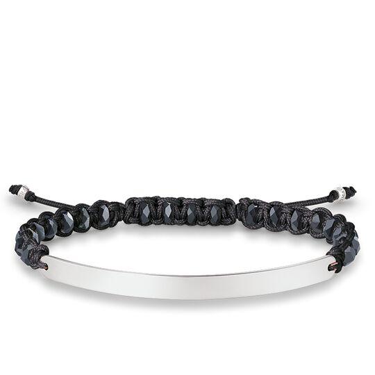 Armband Schwarz aus der Love Bridge Kollektion im Online Shop von THOMAS SABO