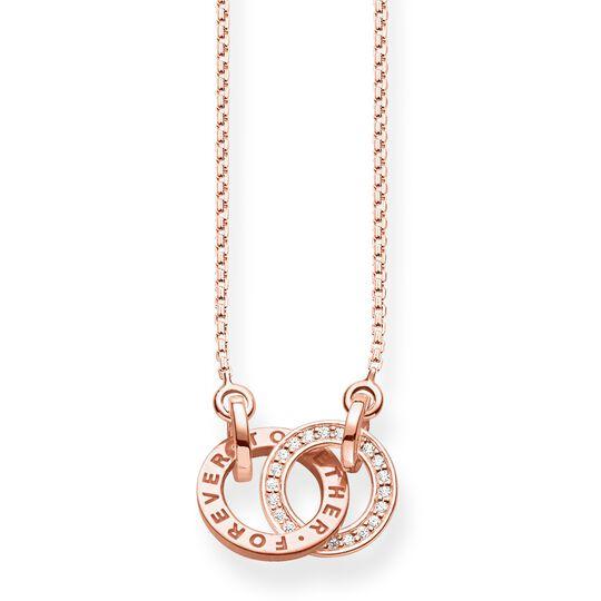 Collar Forever Together pequeño oro rosado de la colección  en la tienda online de THOMAS SABO