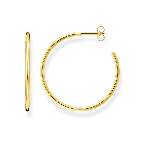 hoop earrings classic small from the Glam & Soul collection in the THOMAS SABO online store
