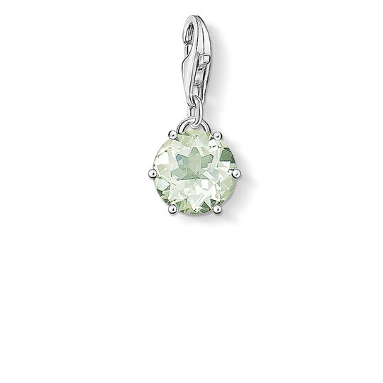 Charm pendant birth stone August from the  collection in the THOMAS SABO online store