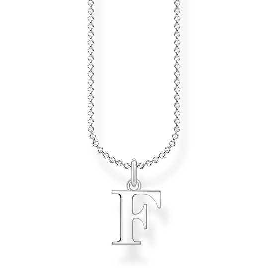 Necklace letter F from the Charming Collection collection in the THOMAS SABO online store