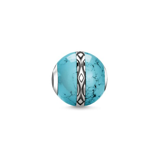 Bead ornament turquoise from the Karma Beads collection in the THOMAS SABO online store