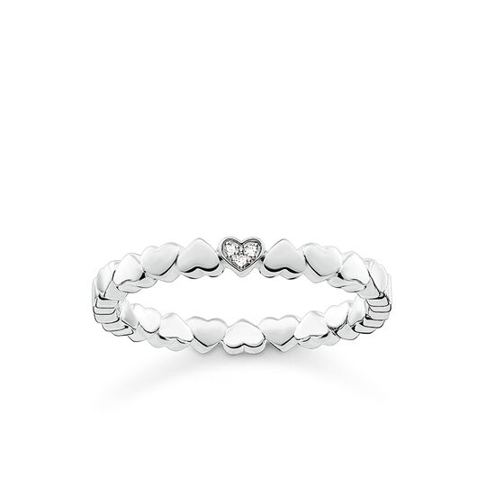 "ring ""hearts"" from the Glam & Soul collection in the THOMAS SABO online store"