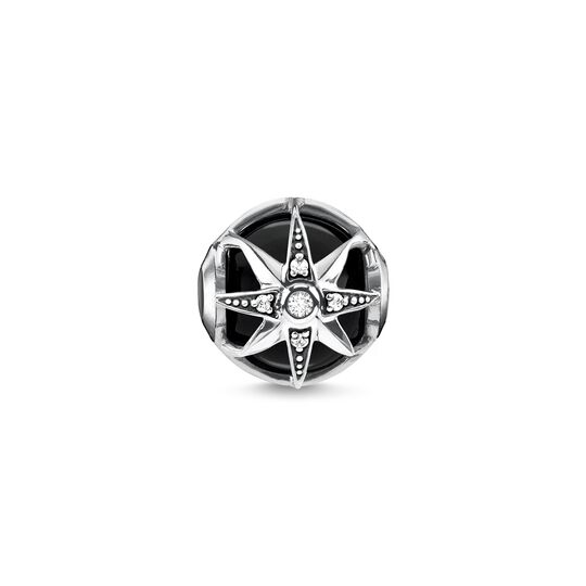 Bead Royalty Star black from the Karma Beads collection in the THOMAS SABO online store