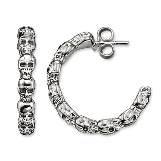 a33c8b9ec hoop earrings from the Rebel at heart collection in the THOMAS SABO online  store
