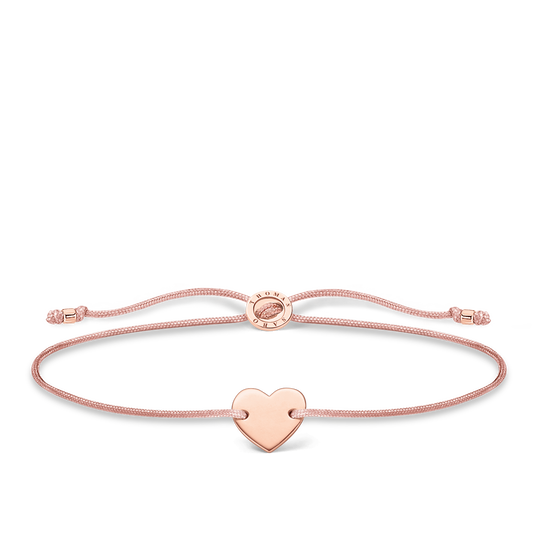 Bracelet heart rose gold from the Charming Collection collection in the THOMAS SABO online store