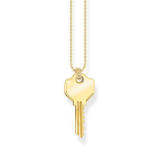 Halsband nyckel guld ur kollektionen  i THOMAS SABO:s onlineshop
