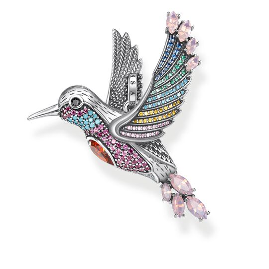pendant colourful hummingbird silver from the Glam & Soul collection in the THOMAS SABO online store