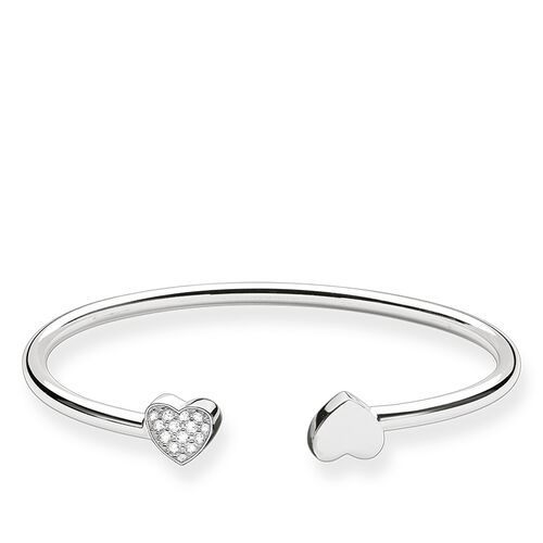 "bangle ""heart"" from the Glam & Soul collection in the THOMAS SABO online store"