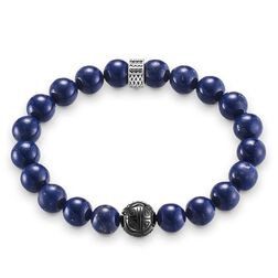 "bracelet ""royal blue"" from the Rebel at heart collection in the THOMAS SABO online store"