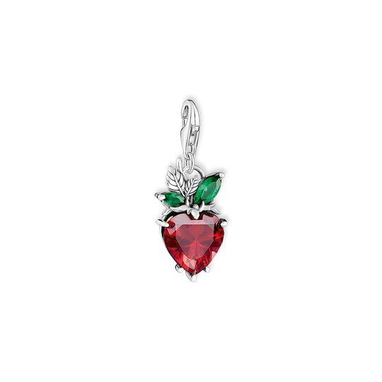 Pendentif Charm fraise argent de la collection Charm Club dans la boutique en ligne de THOMAS SABO