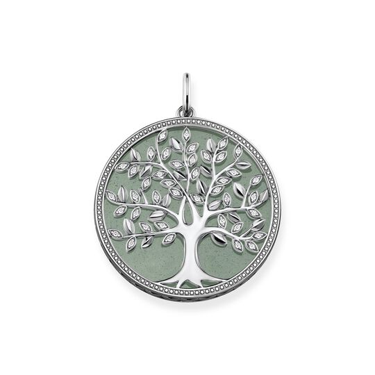 pendant Tree of Love green from the  collection in the THOMAS SABO online store