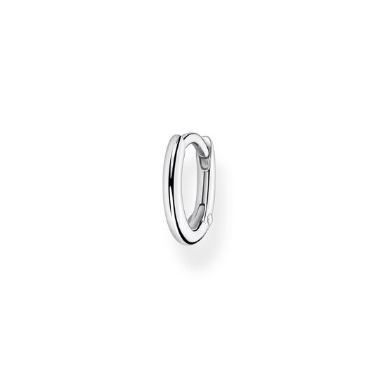 Single hoop earring classic silver from the Charming Collection collection in the THOMAS SABO online store