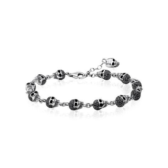 bracelet skulls pavé from the  collection in the THOMAS SABO online store