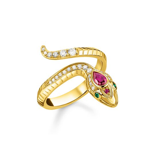 Ring snake gold from the  collection in the THOMAS SABO online store