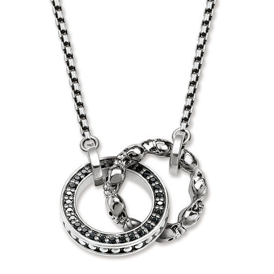Necklace skull pav ke1498 women thomas sabo usa necklace from the rebel at heart collection in the thomas sabo online store mozeypictures Image collections