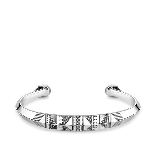 """bangle """"ethnic skull"""" from the Rebel at heart collection in the THOMAS SABO online store"""
