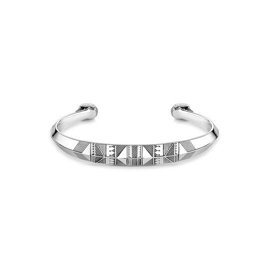"""bracelet jonc """"tête de mort ethnique"""" de la collection Rebel at heart dans la boutique en ligne de THOMAS SABO"""