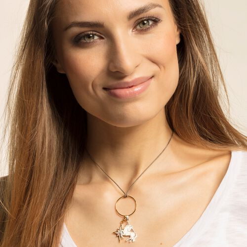 """Charm pendant """"star mother-of-pearl"""" from the  collection in the THOMAS SABO online store"""