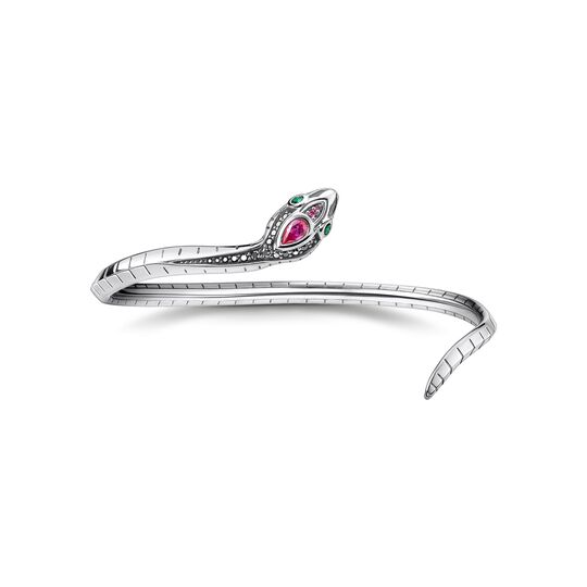 Bangle snake silver from the  collection in the THOMAS SABO online store