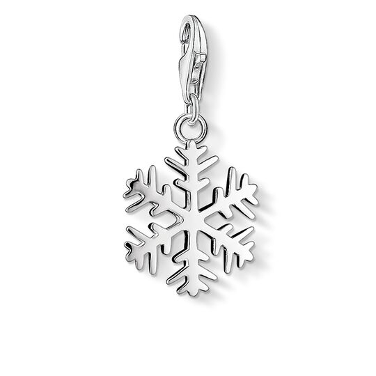 Charm pendant snowflake from the Charm Club collection in the THOMAS SABO online store
