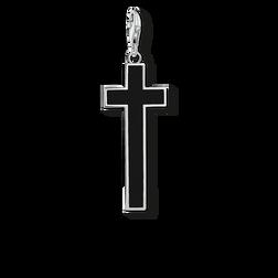 """Charm-Anhänger """"Schwarzes Kreuz"""" aus der  Kollektion im Online Shop von THOMAS SABO"""