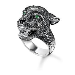 "Ring ""Black Cat"" aus der Rebel at heart Kollektion im Online Shop von THOMAS SABO"