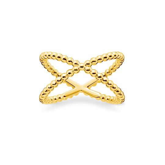 Ring dots gold from the Charming Collection collection in the THOMAS SABO online store