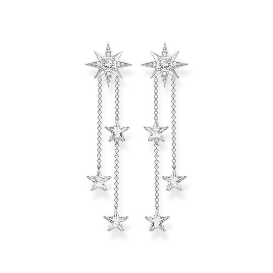 earrings stars silver from the  collection in the THOMAS SABO online store