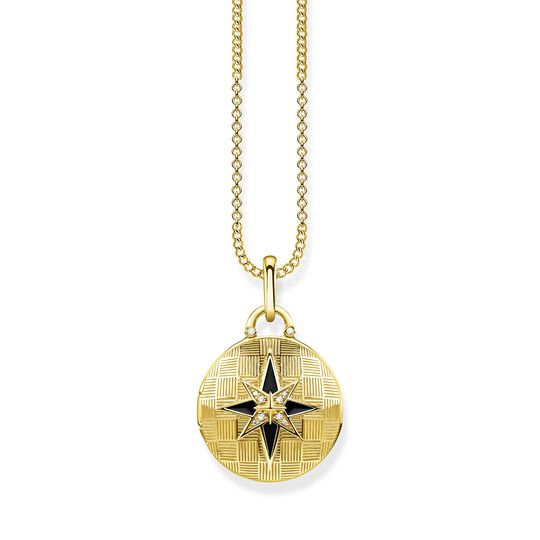 "necklace ""Locket nautical star round"" from the Glam & Soul collection in the THOMAS SABO online store"