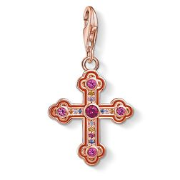 "Charm pendant ""Iconic ornamental cross"" from the Glam & Soul collection in the THOMAS SABO online store"
