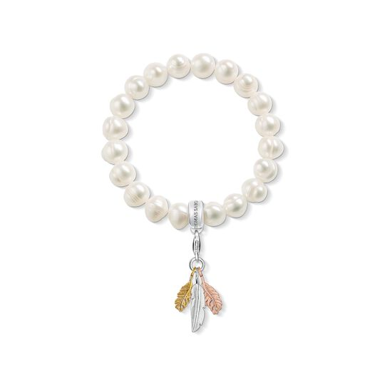 Charm bracelet Feathers from the Charm Club collection in the THOMAS SABO online store