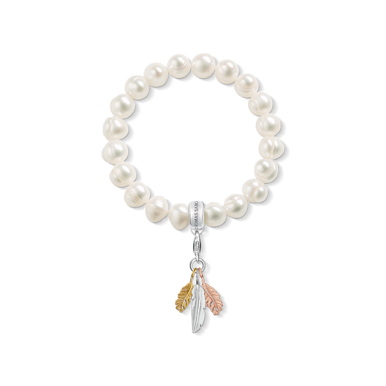 bracelet Charm plume de la collection Charm Club dans la boutique en ligne de THOMAS SABO