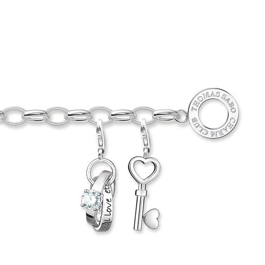 Charm bracelet love from the  collection in the THOMAS SABO online store