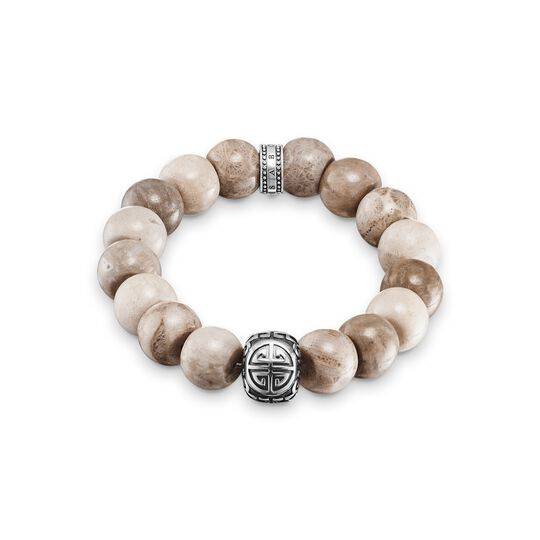 Power Bracelet Ethno Brown from the  collection in the THOMAS SABO online store