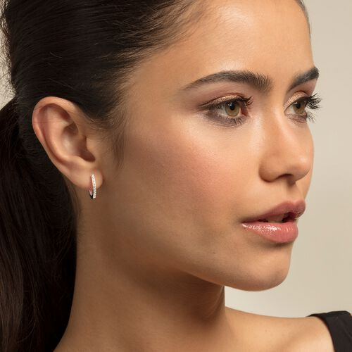 """hoop earrings """"classic"""" from the Glam & Soul collection in the THOMAS SABO online store"""